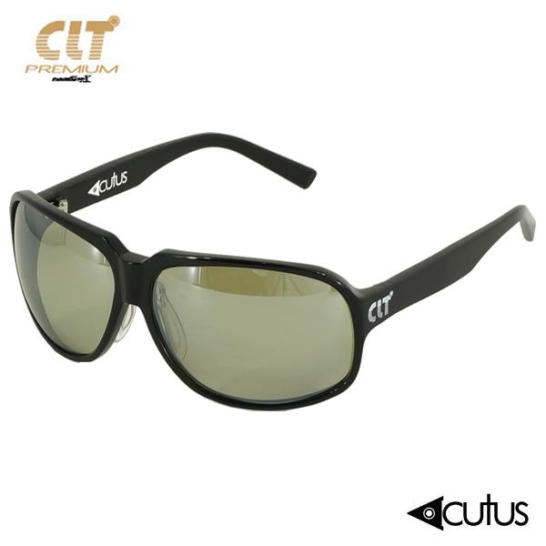 CLT プレミアム Acutus CLT アクタス Acutus ブラック プレミアム/ハンターグリーン/シルバーミラー (サングラス 偏光グラス), アツギシ:5eb4ae16 --- officewill.xsrv.jp