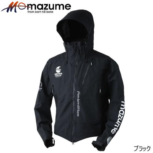 オレンジブルー mazume(マズメ) レッドムーンウェーディングショートジャケット ブラック M~3L (レインジャケット)