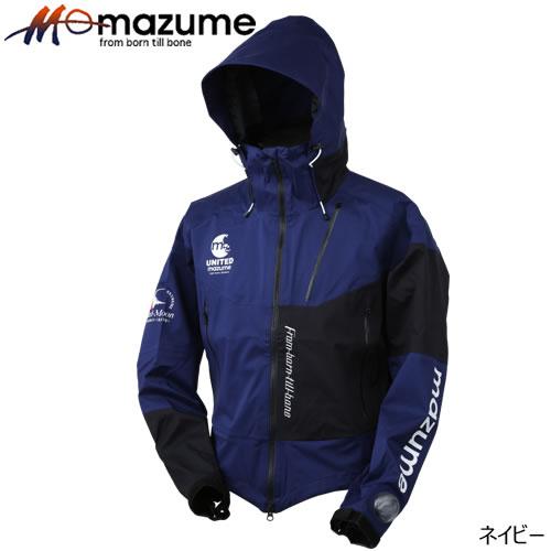オレンジブルー mazume(マズメ) レッドムーンウェーディングショートジャケット ネイビー M~3L (レインジャケット)