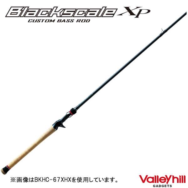バレーヒル ブラックスケールXP BKHC-67LMX (バスロッド ベイト)(大型商品B)