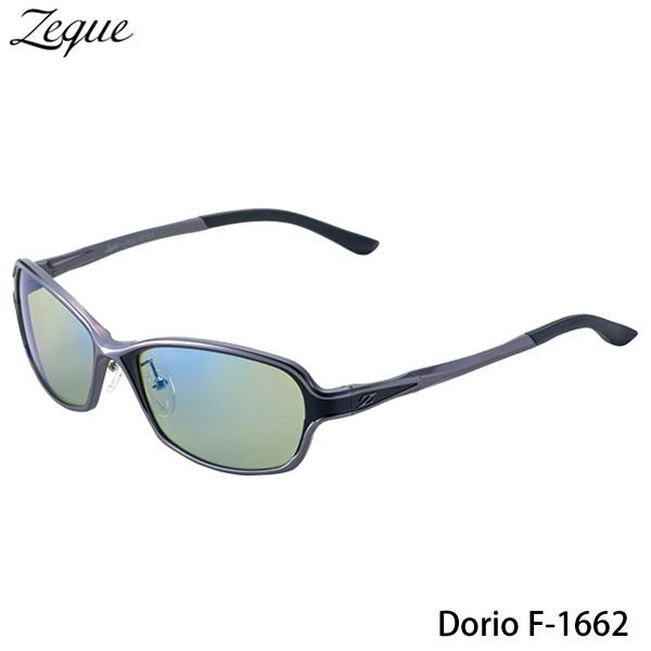 ZEAL (ジール) Dorio F-1662 ガンメタル/ブラック (サングラス 偏光グラス)