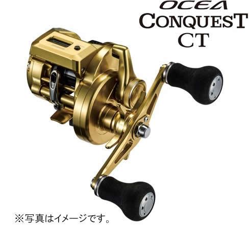 シマノ 18 オシアコンクエストCT 201PG (左) (ベイトリール カウンター付)