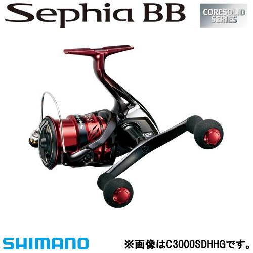【最大1200円OFFクーポン対象店舗】 シマノ 18 セフィア BB C3000SDH (エギング リール)