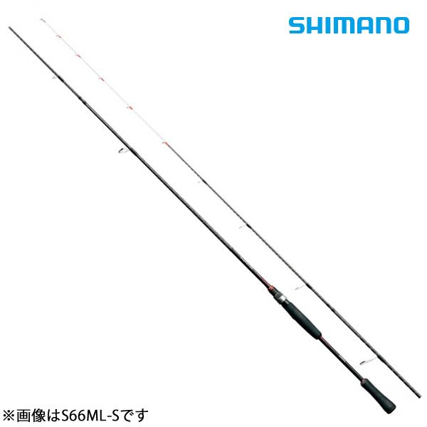 シマノ セフィアBBティップエギング S66ML-S (ティップランエギングロッド)