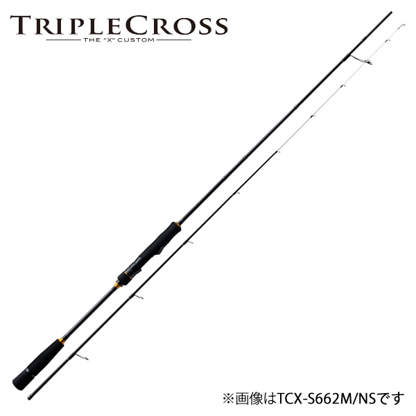 メジャークラフト 18 トリプルクロス TCX-S662M/NS (イカメタルロッド スピニング)