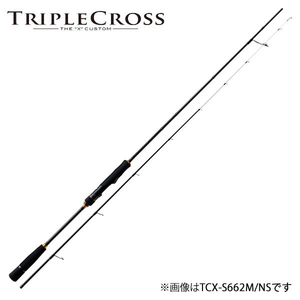 メジャークラフト 18 トリプルクロス TCX-S702M/NS (イカメタルロッド スピニング)
