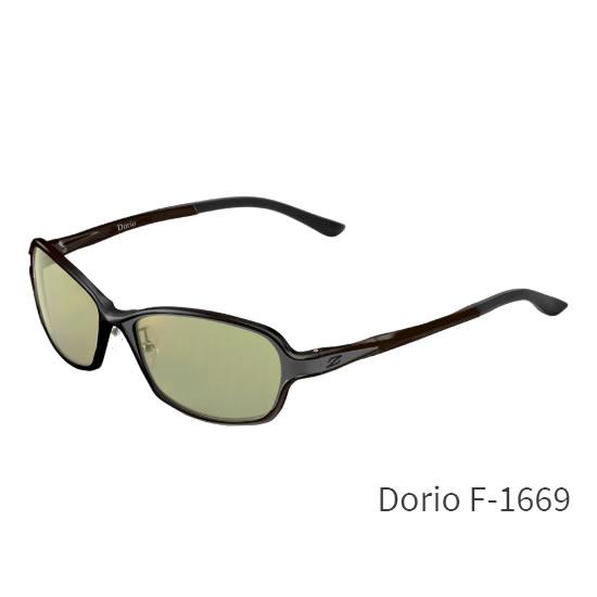 ZEAL (ジール) Dorio F-1669 ブラック / グレイ (サングラス 偏光グラス)