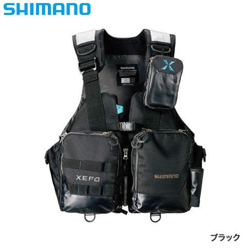 シマノ XEFO アクトゲームベスト VF-274R ブラック (ライフジャケット)