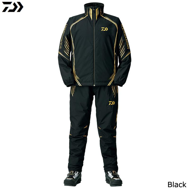 ダイワ トーナメント ウィンドストッパー ミドルスーツ DI-11008T ブラック (防寒ウエア 防寒インナー)