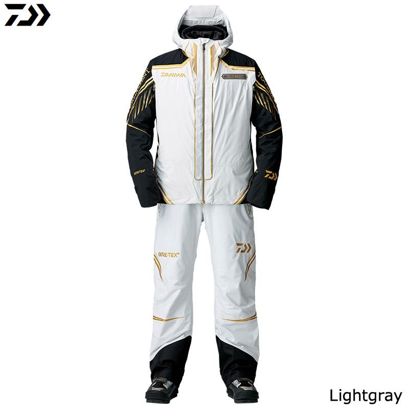 ダイワ トーナメント ゴアテックス プロダクト ウィンタースーツ DW-1008T ライトグレー (防寒ウエア 防寒アウター)