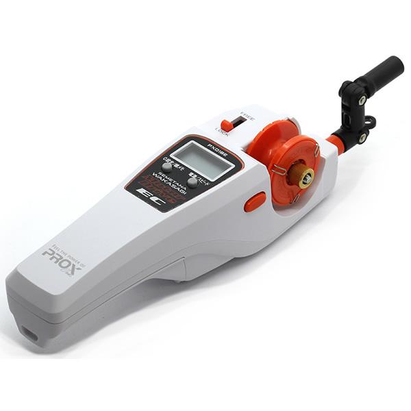 プロックス 攻棚ワカサギモータードライブEC PX018ECMW クラウディマットホワイト (ワカサギ 電動リール カウンター付)