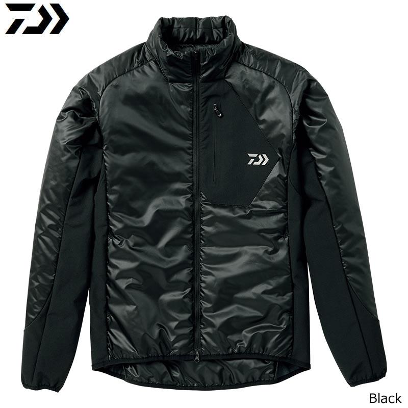 ダイワ プリマロフト ライトジャケット ブラック DJ-24008 M~XL (防寒着 防寒ウエア)