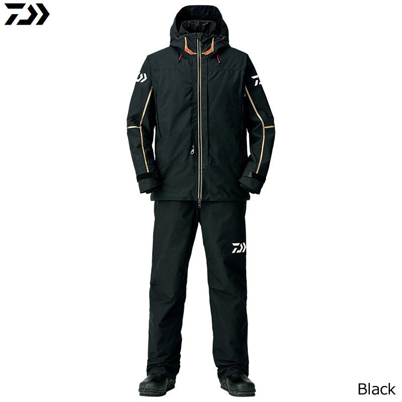 ダイワ ゴアテックス プロダクト コンビアップ ウィンタースーツ ブラック DW-1808 M~XL (防寒着 防寒ウエア 防水防寒上下セット)