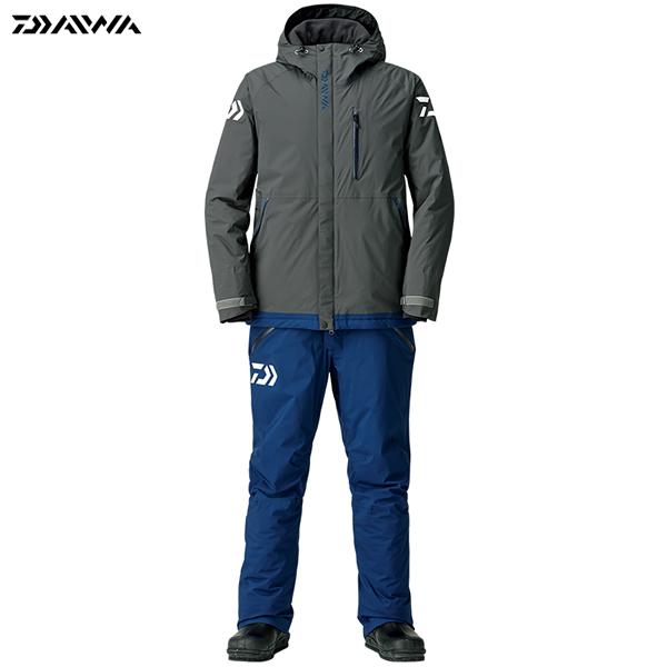 ダイワ レインマックス エクストラハイロフト ウィンタースーツ ガンメタル DW-3208 M~XL (防寒着 防寒ウエア 防水防寒上下セット)
