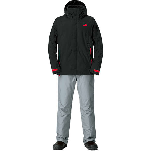 ダイワ レインマックス ウインタースーツ ブラック DW-35008 2XL~4XL (防寒着 防寒ウエア 防水防寒上下セット)