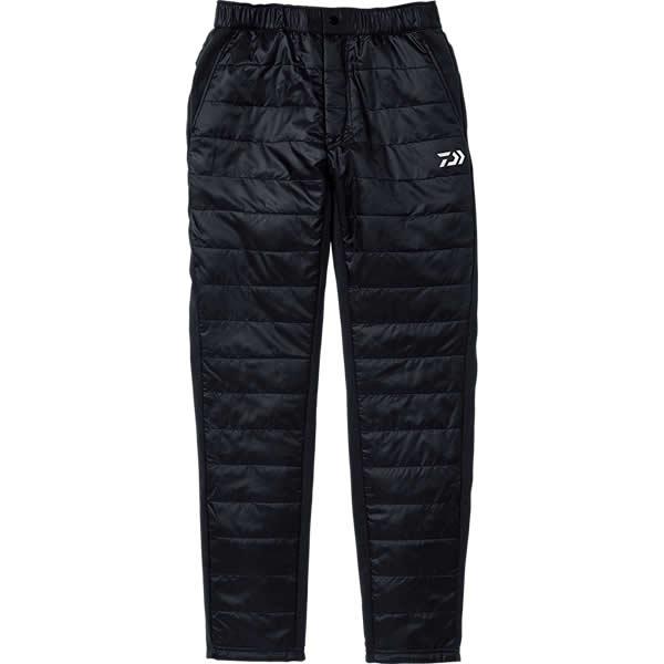 ダイワ 中綿入ハイブリッドパンツ ブラック DP-30008 M~XL (防寒着 防寒ウエア)