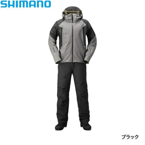 シマノ ゴアテックス ベーシックウォームスーツ ブラック RB-017R S~XL (防寒着 防寒ウエア 防水防寒上下セット)