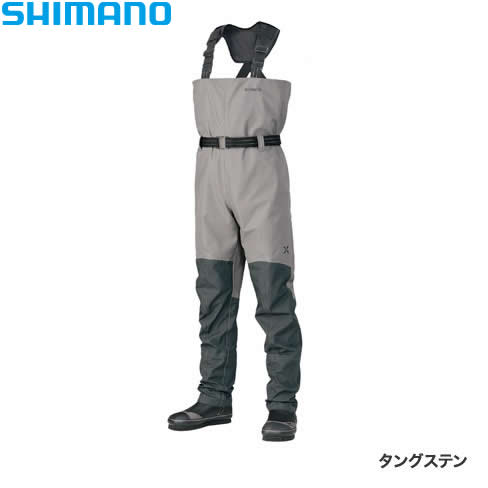 シマノ XEFO アクトゲームウェーダー タングステン WA-228R (チェストハイウェーダー)