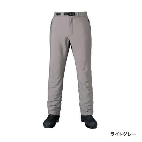 シマノ XEFO ストレッチサーマルパンツ PA-245R ライトグレー M~XL (フィッシングパンツ 防寒パンツ)