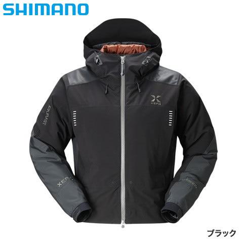シマノ XEFO ストレッチ ウェーディングジャケット RB-21JR ブラック M~XL (防寒着 釣り メンズ)