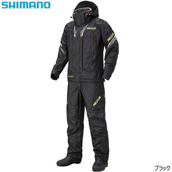 シマノ ネクサス DSプロテクトスーツ XT RT-125R ブラック M~XL (防寒着 アウター)