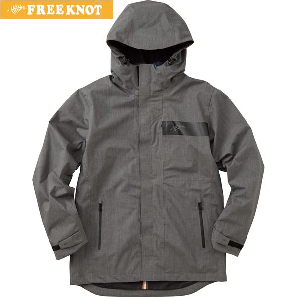 ハヤブサ フリーノット BOWON(ボウオン) ボディグリッドジャケット 杢グレー Y1132 (防寒着 防寒ウエア)