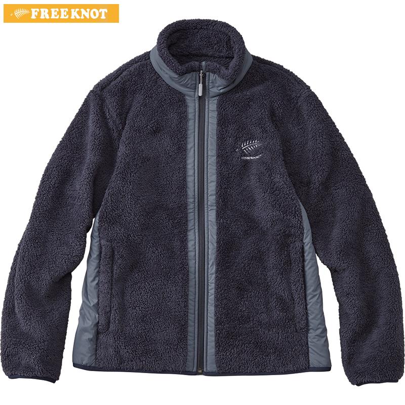 ハヤブサ フリーノット FOURON シェルフリースジャケット レディース Y1137W ネイビー M~LL (防寒)