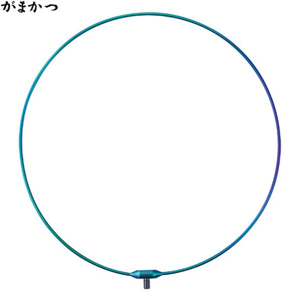がまかつ タモ枠 (ワンピース/チタン) 45cm GM-838 (玉枠)