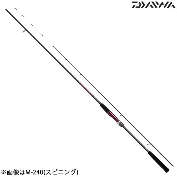ダイワ 18紅牙テンヤゲーム M-240・V スピニングモデル (一つテンヤ ロッド)