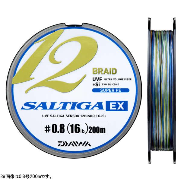 ダイワ UVFソルティガS12B EX+Si 2号400m (PEライン)