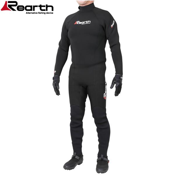 リアス Rearth SW ウエットスーツ3 プロ FWS-3500 ブラック(ウェットスーツ)