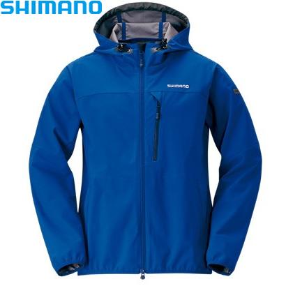 シマノ ストレッチ3レイヤーHジャケット ディープネイビー M~XL JA-040Q (防寒着 防寒インナー)