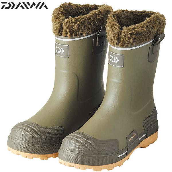 ダイワ ウインターラジアルブーツ モスグリーン WR-3301 (フィッシングブーツ 防寒ブーツ)
