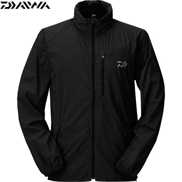 ダイワ ポケッタブルウインドジャケット ブラック DJ-33009 (フィッシングジャケット) S~XL