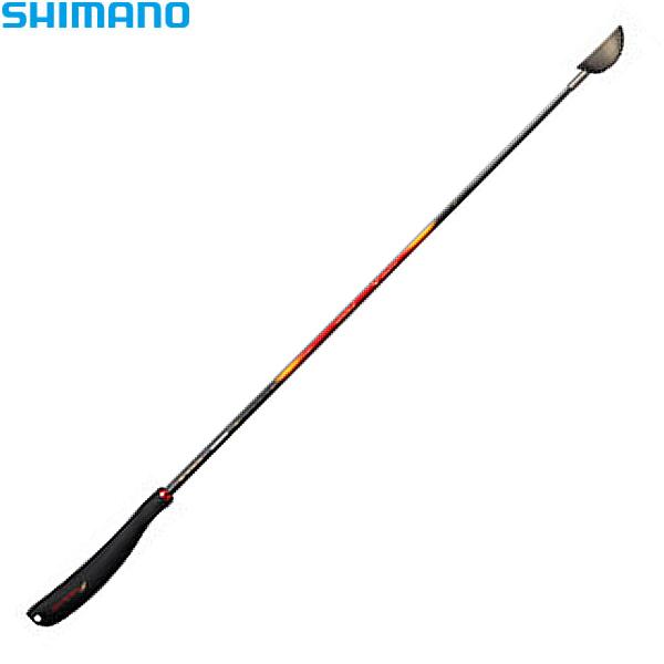 シマノ ファイアブラッド チタン遠投ヒシャク 80cm レッド SY-113P (マキエ杓)