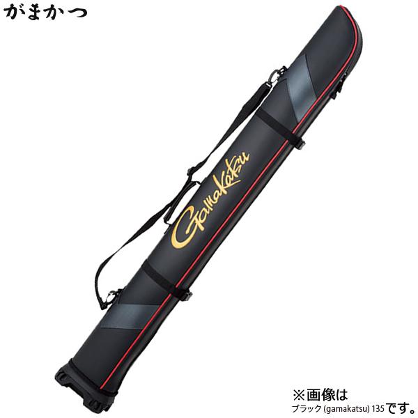 がまかつ ワイドストレートロッドケース (ガマカツ) ブラック・135 GC-275 (ロッドケース)(大型商品A)
