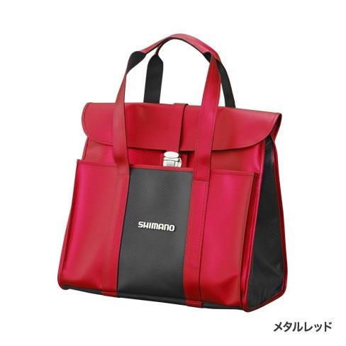 シマノ へらサブバッグXT メタルレッド BA-043Q (フィッシングバッグ)