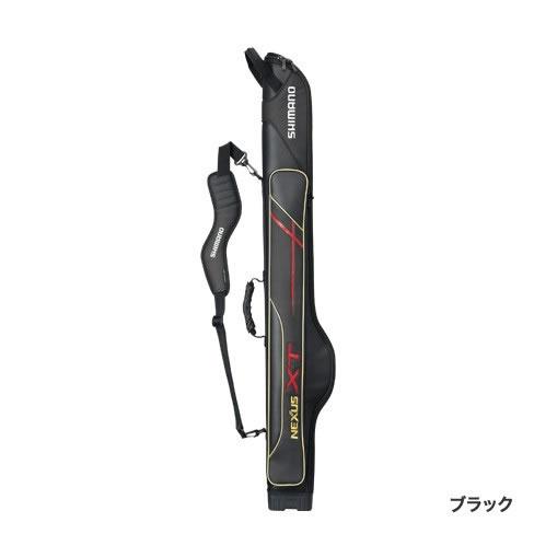 シマノ ロッドケースXTスリム ブラック・135 RC-125R (ロッドケース)(大型商品A)