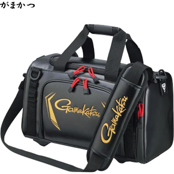 がまかつ タックルボストン ブラック・M GB-355 (フィッシングバッグ)