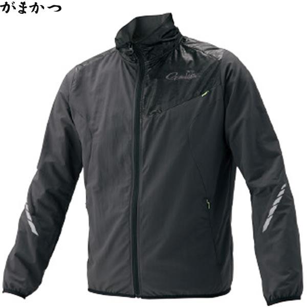 がまかつ NO FLY ZONE(R) ウインドジャケット ブラック GM-3562 (フィッシングウェア)