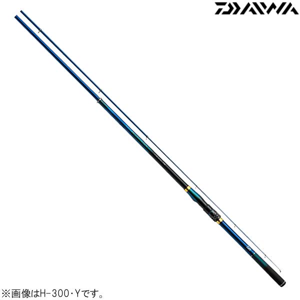 ダイワ クラブブルーキャビン M-300・Y (磯竿)