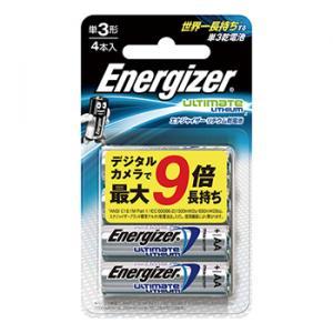 エナジャイザー リチウム乾電池 単3形 4本入り 型番:LIT BAT AA 4PK