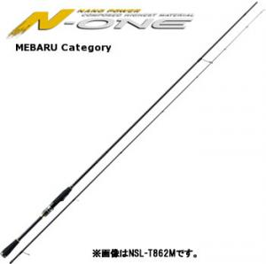 メジャークラフト N-ONE エヌワン メバル ソリッド NSL-S732UL (メバリングロッド)