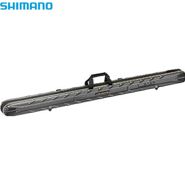 シマノ タフ/ウォッシュストレートロッドケースリミテッドプロ カーボンブラック・150 (ロッドケースー)