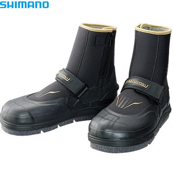 シマノ ジオロック・フレックス3Dカットフェルトタビ リミテッドプロ (中丸先ワイド) ブラック FT-012S (鮎タビ)