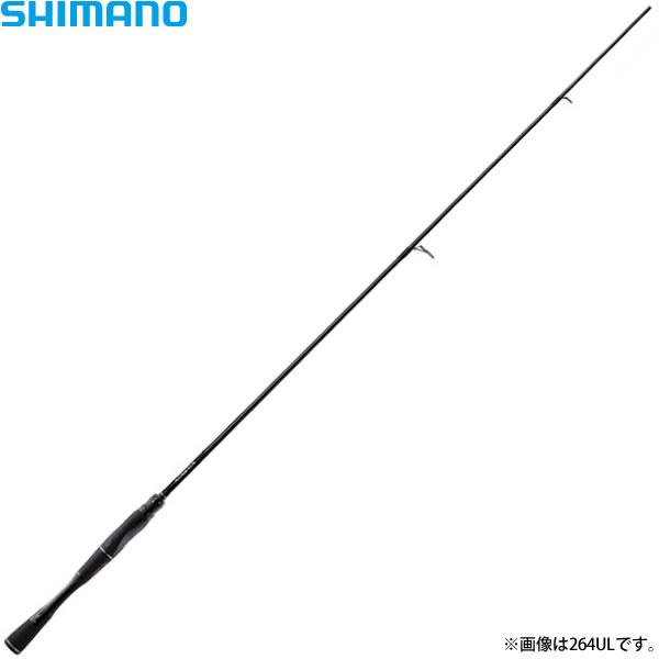 シマノ 18 ポイズン・アドレナ 268UL (バスロッド スピニング)(大型商品B)