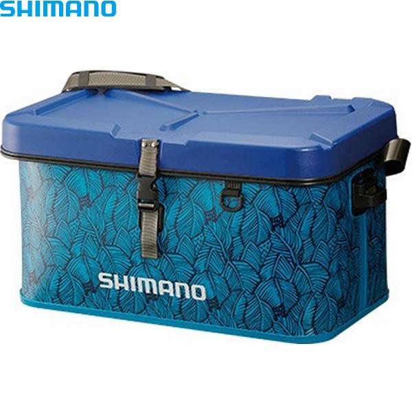 シマノ EVAタックルバッグ (ハードタイプ) 32L ボタニカルブルー BK-002Q (EVAバッグ タックルバッグ)