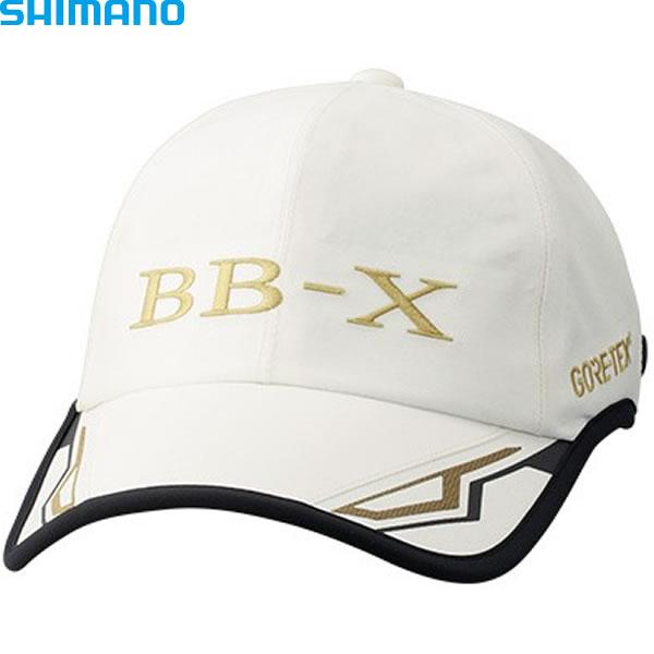 シマノ ゴアテックスレインキャップBB-X BB-Xホワイト CA-111S (フィッシングキャップ)