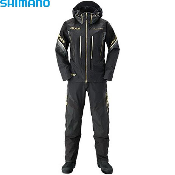 シマノ ネクサス ゴアテックス スーツ LIMITED PRO RA-112S リミテッドブラック (レインウェア レインスーツ)