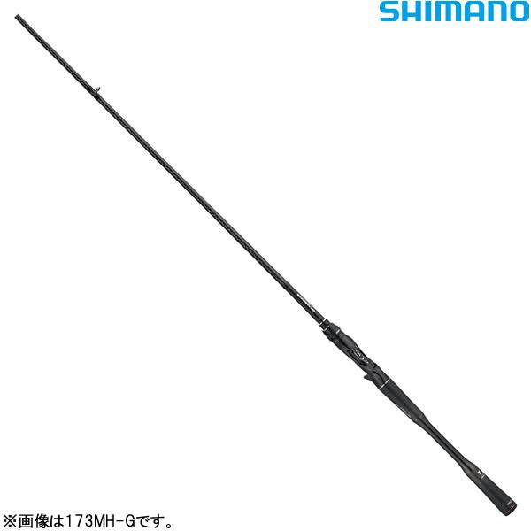 シマノ 19 ポイズン・グロリアスXC 173MH-G (バスロッド ベイト)(大型商品A)